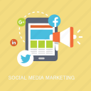 concepts, internet, marketing, media, notification, seo, social icon