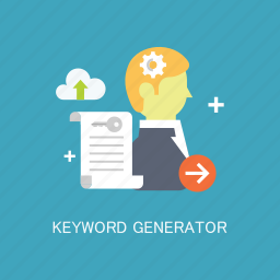 concepts, generator, internet, keyword, marketing, seo, services icon