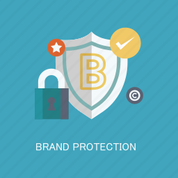 brand, concepts, encrypted, internet, marketing, protection, seo icon