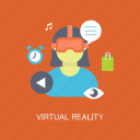 concepts, gaming, internet, marketing, reality, seo, virtual icon