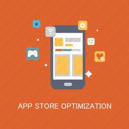 app, concepts, internet, marketing, optimization, seo, store icon