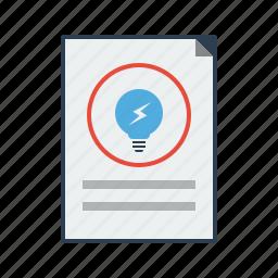 bulb, business, creative, idea, power, seo, think icon