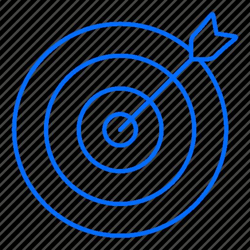 goal, marketing, seo, target icon