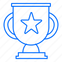 cup, marketing, seo, technology, trophy, web icon