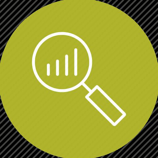 analysis, analytics, growth icon