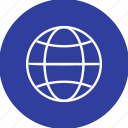 address, earth, globe, map, planet, site, web icon