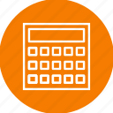 calculation, calculator, mathematics, maths icon