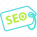 business, marketing, seo, tag icon