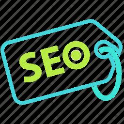 business, marketing, seo, tag icon