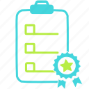 bookmark, clipboard, favorite, rating icon