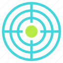 aim, audience, objective, target icon