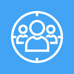 connection, network, people, professional, social, team, users icon