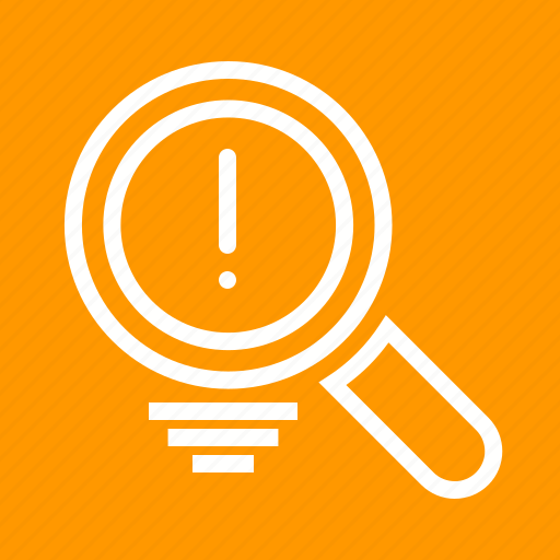 Analysis, digital, find, glass, magnifier, magnifying, search icon - Download on Iconfinder
