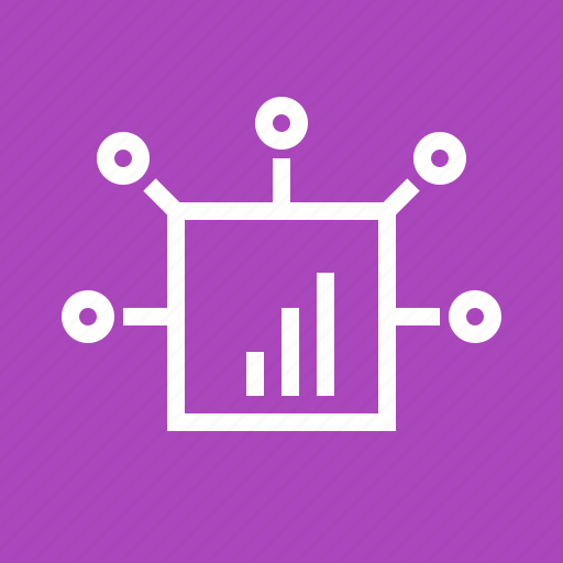 Box, business, digtial marketing, gear, lines, signals, spikes icon - Download on Iconfinder