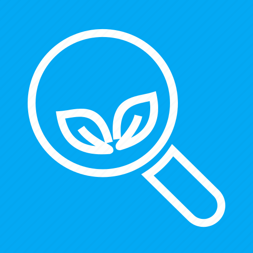 Explore, find, glass, grow, natural, organic, search icon - Download on Iconfinder