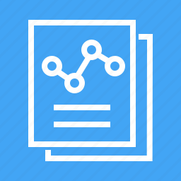 chain, documents, folder, notepad, paper, reports, statistics icon