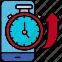 ios, mobile, marketing, optimization, response, seo, stopwatch, time