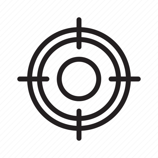 audience, customer, people, seo, target icon