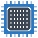 chip, cpu, gpu, processor, seo icon