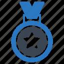 achievement, award, goal, medal, prize icon