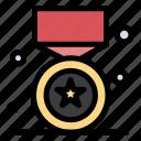award, medal, prize, star, win icon
