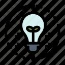 bulb, idea, light, refresh, solution icon