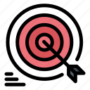 arrow, darts, goal, goals, target icon