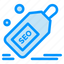 discount, offer, packages, seo, tag icon
