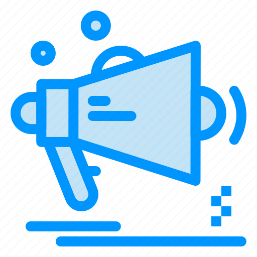 advertising, announcement, loudspeaker, marketing, megaphone icon