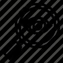 analysis, monitoring, observation, surveillance icon