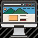 page, visit, landing, marketing, website