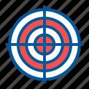 aim, goal, target, targeting icon