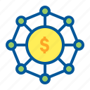 budget, income, investment, money icon
