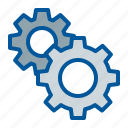 config, gear, options, settings icon