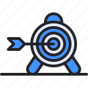 target, strategy, business, arrow, goal