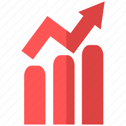 analysis, assessment, bar, graph, growth, prospect, scope icon