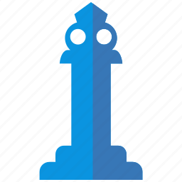 chess, king, monument, pawn, queen, rook, statue icon