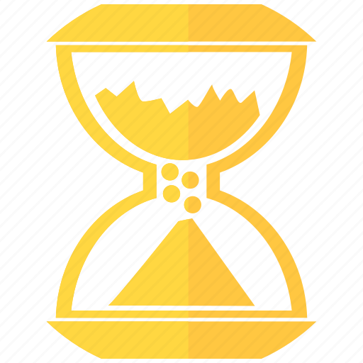 age, day, hourglass, month, sand, time, year icon