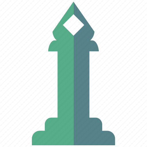 chess, laurel, monument, pawn, rook, statue, strategy icon