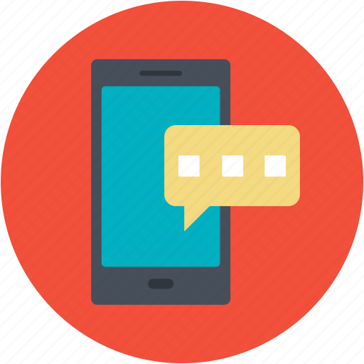 chat, chatting, dialogue, discussion, mobile, sms icon