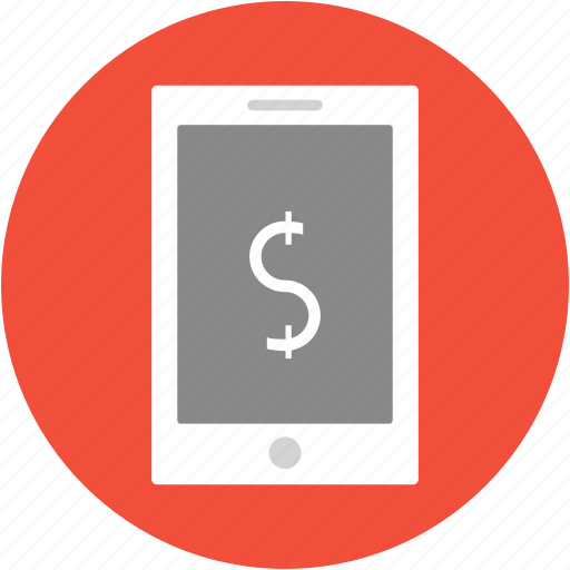 device, finance, internet, iphone, marketing, mobile, online icon