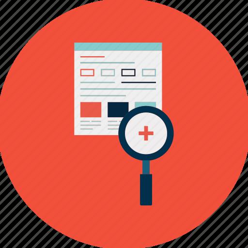 business, engine, eye, marketing, optimization, search, view icon