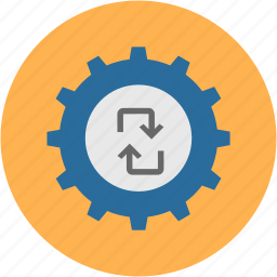 browser, cog, control, page, setting, tool, web icon