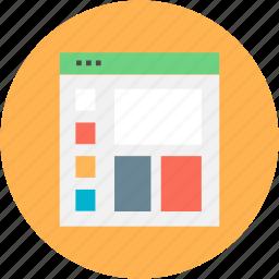 computer, design, device, graphic, mobile, page, seo icon