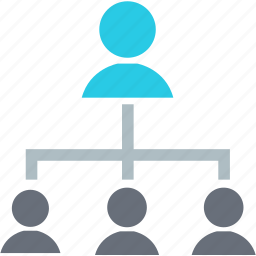 account, affiliate, audience, chart, communication, diagram, user icon