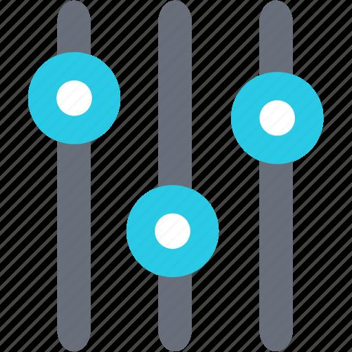 analytics, axis, chart, control, diagram, statistics, volume icon