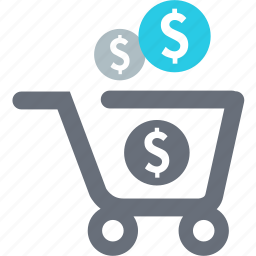 buy, cart, cash, currency, money, sale, shopping icon