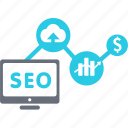 analytics, business, communication, ecommerce, internet, marketing, seo icon
