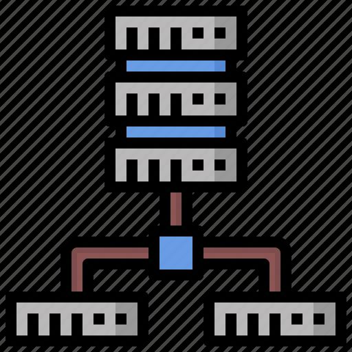 Cloud, computer, computing, data, hosting, internet, server icon - Download on Iconfinder