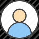 account, customize, man, profile, user icon